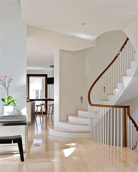 Bright 320 Sycamore mode Boston Contemporary Staircase