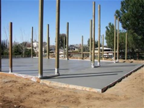 Pole Barn Concrete Floor Cost by When A Concrete Slab Floor Might Be Less Expensive Than