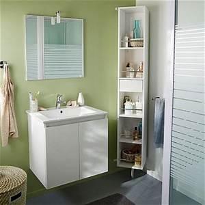 Etagere Rangement Salle De Bain : rangements tag res pour petite salle de bain castorama ~ Teatrodelosmanantiales.com Idées de Décoration
