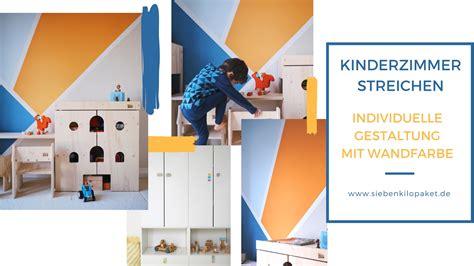 Kinderzimmer Gestalten Buben by Wandgestaltung Im Kinderzimmer Eine Kunterbunte