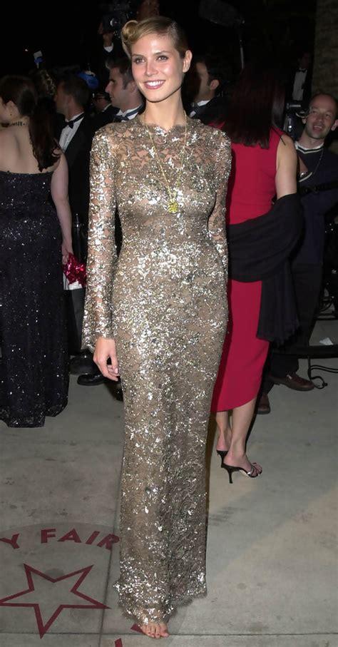 Heidi Klum Photos Vanity Fair Oscar Party