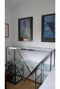 Offenes Regal Schließen : glas metall regal raumteiler schick selbstragend 150cm in berg regale kaufen und verkaufen ~ Orissabook.com Haus und Dekorationen