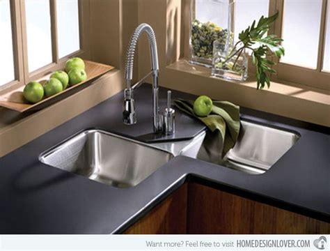 cool corner kitchen sink designs corner sink sinks