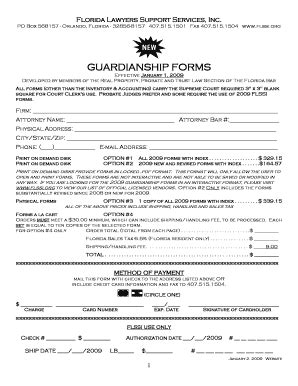bill  sale form florida guardianship form templates