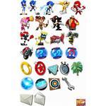Sonic Dash Boom Icon Sprites Notification Sheet