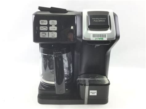 Find the products you love for less at kohl's®. Hamilton Beach FlexBrew 2-Way Coffee Maker - Black for sale online | eBay