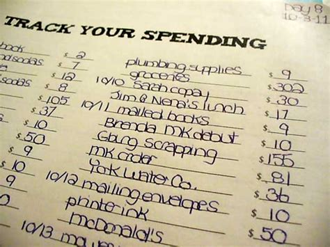 track your spending curtis money