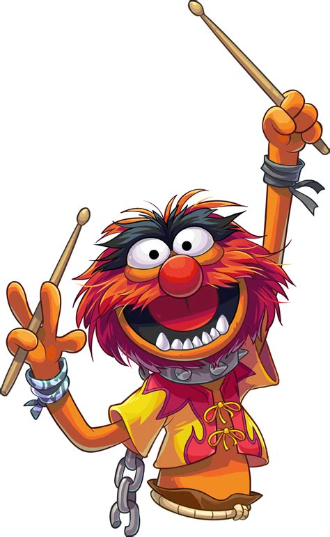 resultado de imagen  animal muppets estampados em