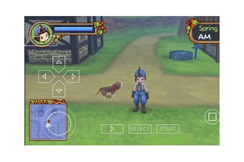 download game harvest moon back to nature iso ppsspp