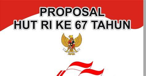 proposal memperingati hut ri    pemuda pemudi