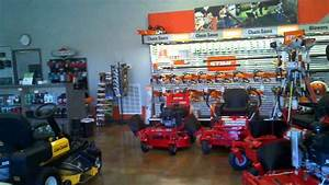 Cirrus Outdoor Power Equipment Inside Hendersonville Store