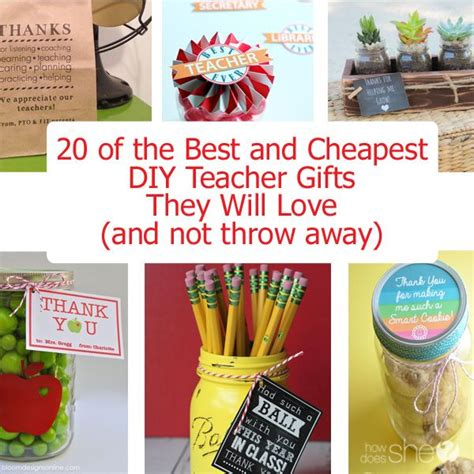 cheap teacher christmas gifts 20 of the best and cheap diy gifts teaching gifts and