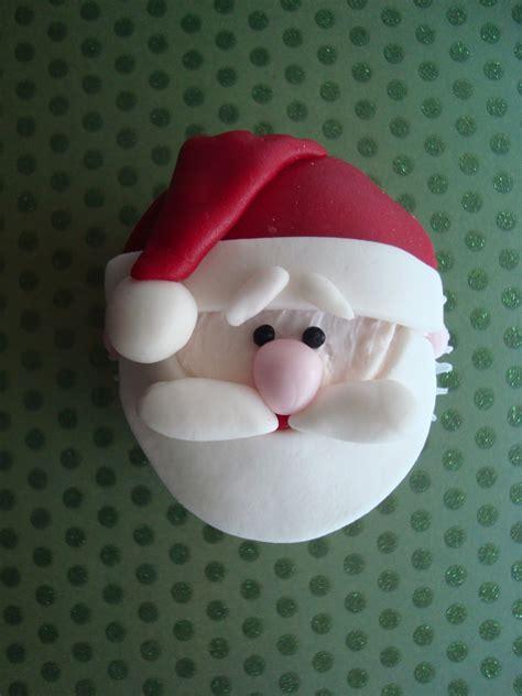 santa cupcakes   christmas