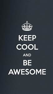 Be Awesome - Cool iPhone Wallpapers