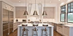 the best paint colors for every type of kitchen huffpost With kitchen colors with white cabinets with art deco wall stencil