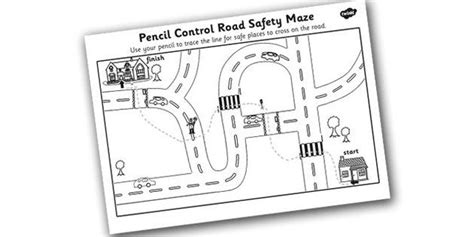safe road crossing pencil worksheet ipc 762 | 9d00feb6aafb197a335e888c7887fd66