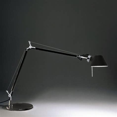 Tolomeo Desk L Black by Artemide Tolomeo Tavolo Table L With Base A004430