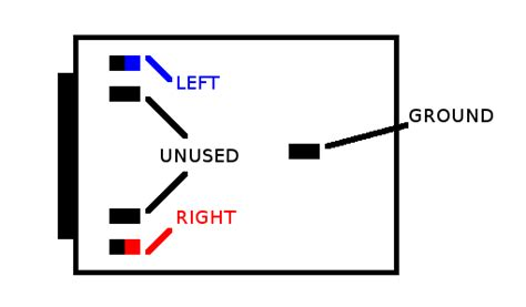 3 5mm Headphone Wiring Diagram by 3 Wire Headphone Wiring Diagram 5mm Wiring