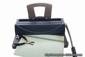 Manual Binder - Photo  Picture Definition At Photo Dictionary