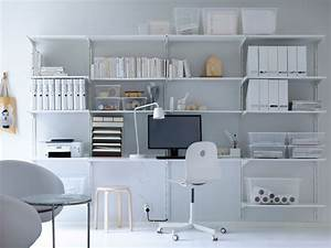 Endless versatility ikea for Ikea home office storage