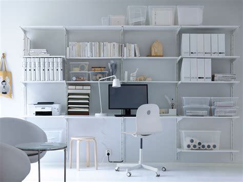 cool IKEA office storage with unique office chair and