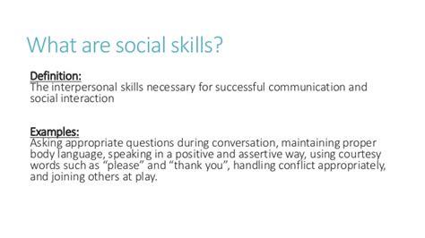 examples  social skills world