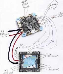 Wiring Cicada 4 In 1 Esc To Diatone Fc With Integrated Pdb - Help