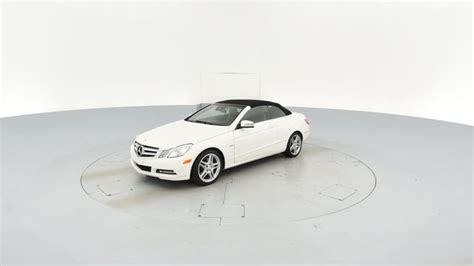 Top 5 convertibles with the best cargo space. Used 2012 Mercedes-Benz E-Class | Carvana