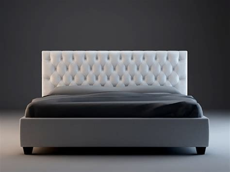 Chesterfield bed 3d model 3dsmax,3ds files free download