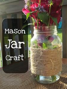 Easy, Twine, Mason, Jar, Craft
