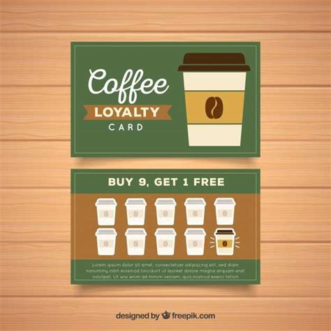 And it provides simple information along with icons at the bottom of the card. Coffee Loyalty Card Template Free Download - Cards Design Templates