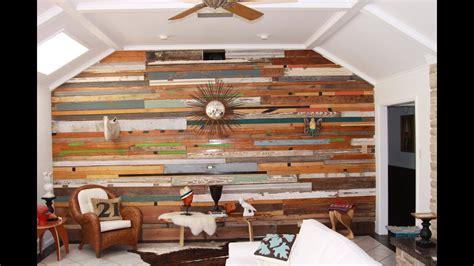 reclaimed wood wall design ideas youtube