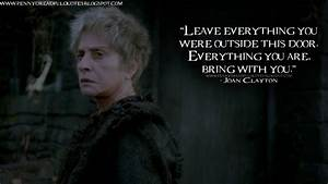 Leave everythin... Joan Clayton Quotes