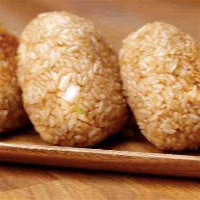 Rice Chicken Recipe Balls Sriracha Mayo Perfection