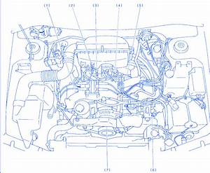 Subaru Outback 2 5 1997 Electrical Circuit Wiring Diagram