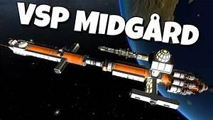 KSP Odessa (interplanetary ship) : KerbalSpaceProgram