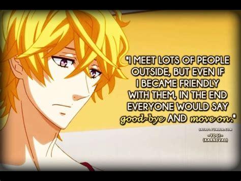 foto de Yogi (Karneval) Anime quotes Anime life Anime