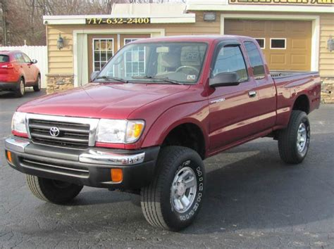 2000 Toyota Tacoma Mpg by 2000 Toyota Tacoma Sr5 V6 2dr 4wd Extended Cab Sb In