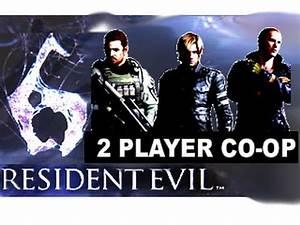 Resident Evil 6 Split Screen 2 Player CO-OP (Complete Demo ...