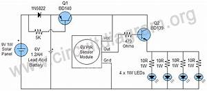 Outdoor Solar Lights Motion Sensor Wiring Diagram