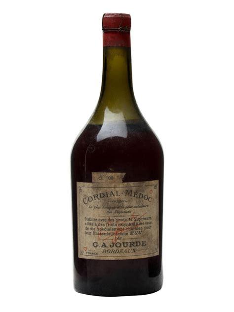 cordial liqueur jourde cordial medoc liqueur bot 1930s litre bottle the whisky exchange