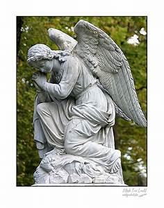 Fine Art print of a praying angel statue by picspicspics ...