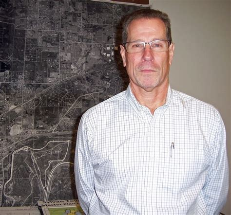 Newly elected Sylvan Township Supervisor Tom McKernan ...