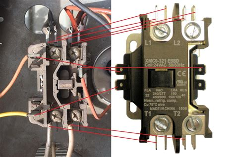 Replacing Contactor Need Help With Wiring Please