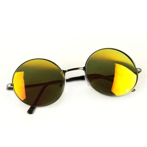 lentille cuisine lunettes de soleil rondes vintage retro 70s lennon