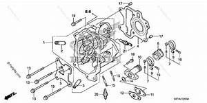 Honda Scooter 2009 Oem Parts Diagram For Cylinder Head