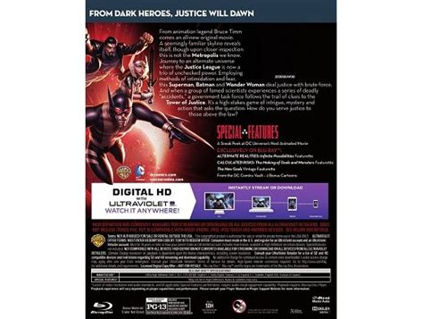 comic con form 990 2016 justice league gods monsters blu ray zmart cl