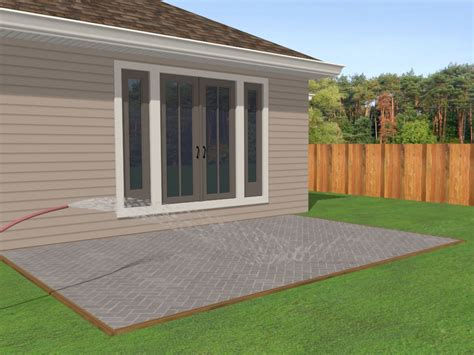 different ways to lay brick 2 easy ways to lay a brick patio wikihow
