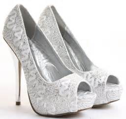 silver shoes for wedding silver high heel shoes for wedding collection 2017