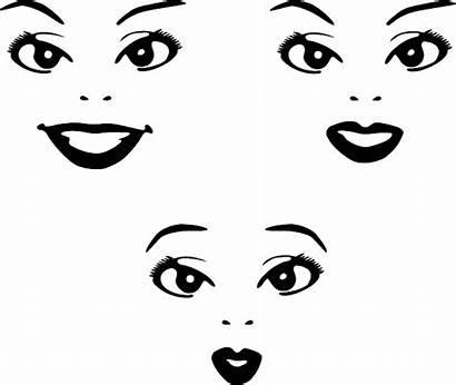 Lips Around Dark Chin Skin Expressions Riddles